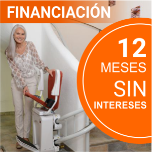 Financiación sillas salvaescaleras 12 meses sin intereses